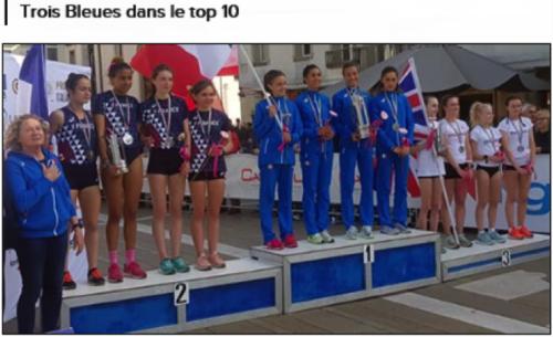 Athlétisme: compétition internationale 0derzo (Italie)