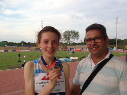 Athlétisme: Alexandra Yatsimirsky vice-championne de France sur 3.000 m